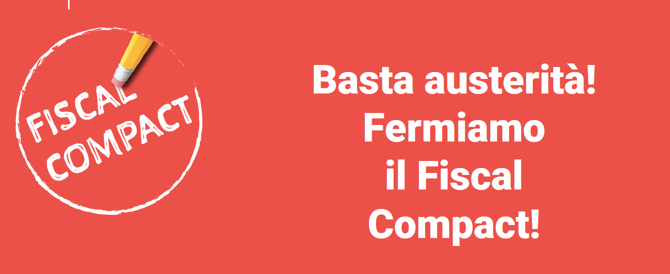 stop fiscal compact immagine