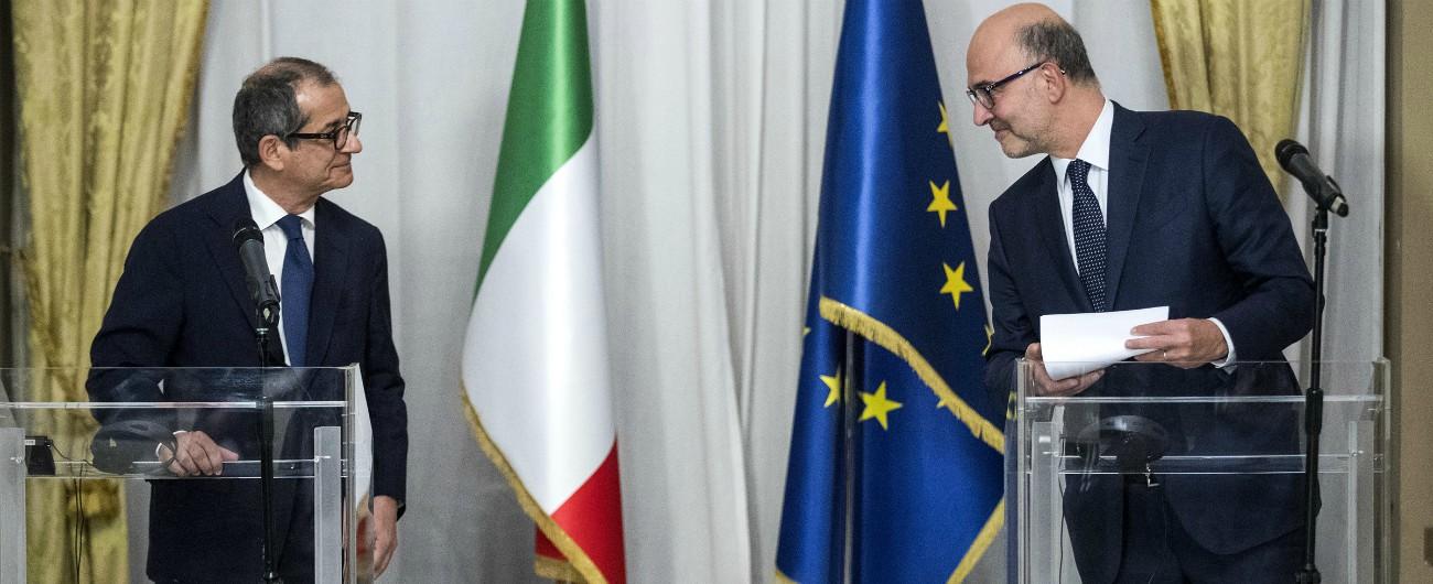 Risultati immagini per commissione europea tria