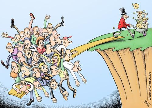 Il debito e la diseguaglianza finanziaria