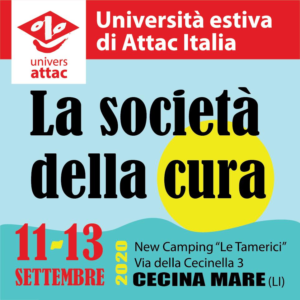 Università estiva 2020 di Attac Italia
