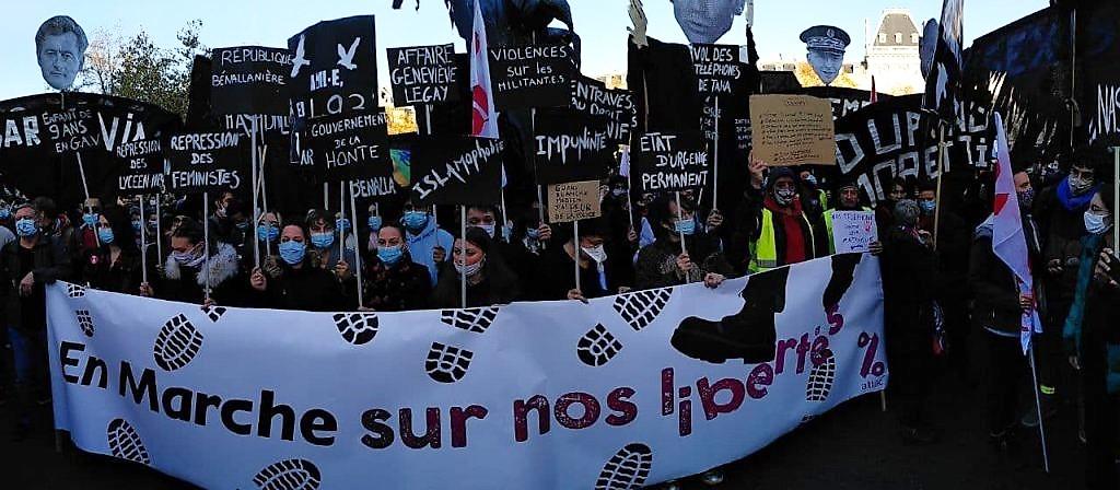 Movimenti in Francia nella crisi pandemica
