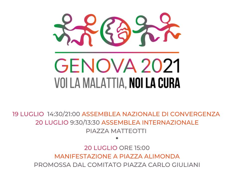 A Genova per disarmare i mercati